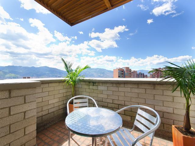 Poblado Penthouse Near Lleras 0135 - Image 1 - Medellin - rentals