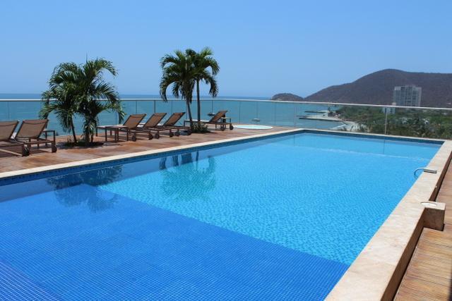 Luxurious High Floor Santa Marta w/ Private Beach 0015 - Image 1 - Santa Marta - rentals