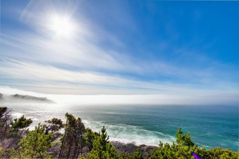 Historic waterfront home w/ ocean views, great location, dogs OK! - Image 1 - Depoe Bay - rentals