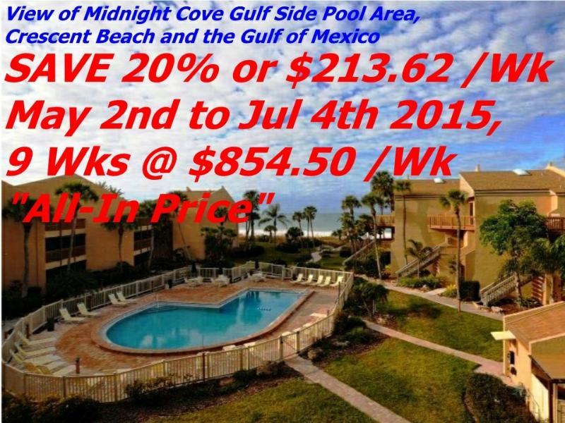 Sun, Sand & *SAVE 20% to 50%* Midnight Cove #714 - Image 1 - Siesta Key - rentals