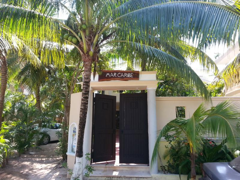 Casa MarCaribe, 6 air conditioned bedrooms, beach front, white sand, chef service available, parking - Beach front luxury,6 bedroom, Aircondtioned, Tulum - Tulum - rentals