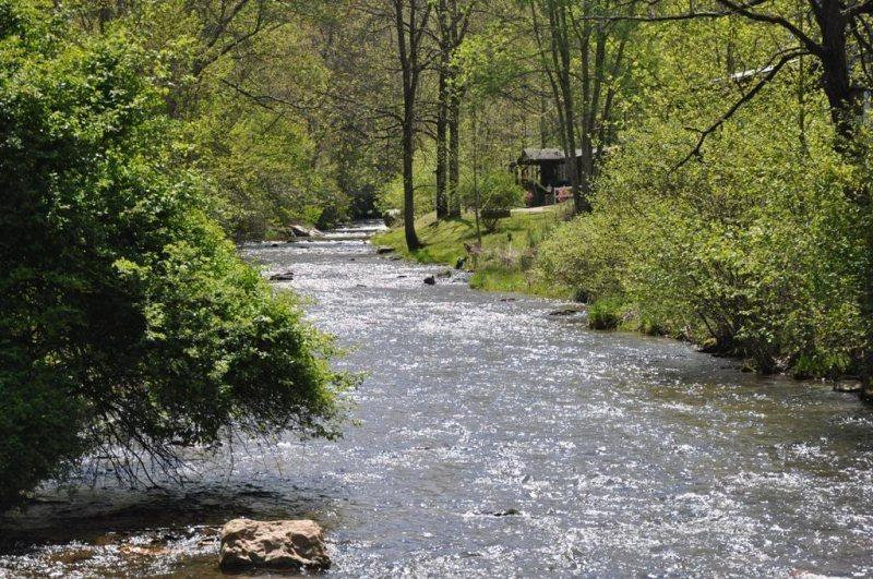 Paradise Valley Lodge - With Fishing Out the Back Door, This Creek Front Rental is Less than 15 minutes to Fontana Lake, Rafting, and Zip Line Canopy Tours - Image 1 - Bryson City - rentals