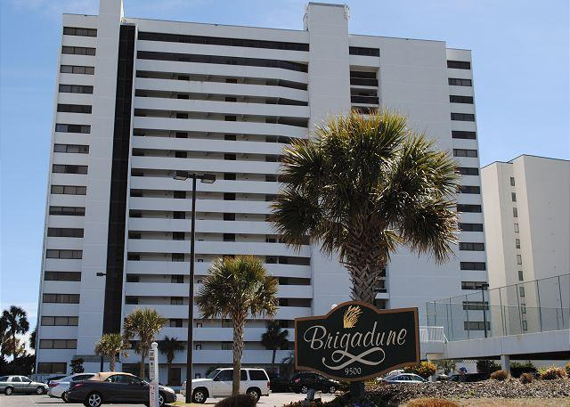 Immaculate Oceanfront Property @ Brigadune- Shore Drive Myrtle Beach SC #17E - Image 1 - Myrtle Beach - rentals