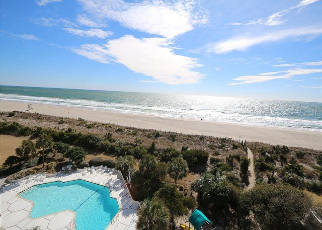 Station One - 6K Howard - Oceanfront condo with community pool, tennis, beach - Image 1 - Wrightsville Beach - rentals