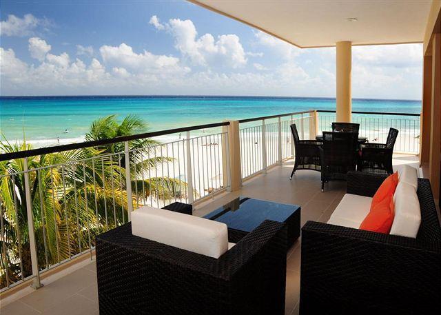El Faro Surf 309 Terrace - Modern Oceanfront 2bed Condo in El Faro (EFS309) - Playa del Carmen - rentals