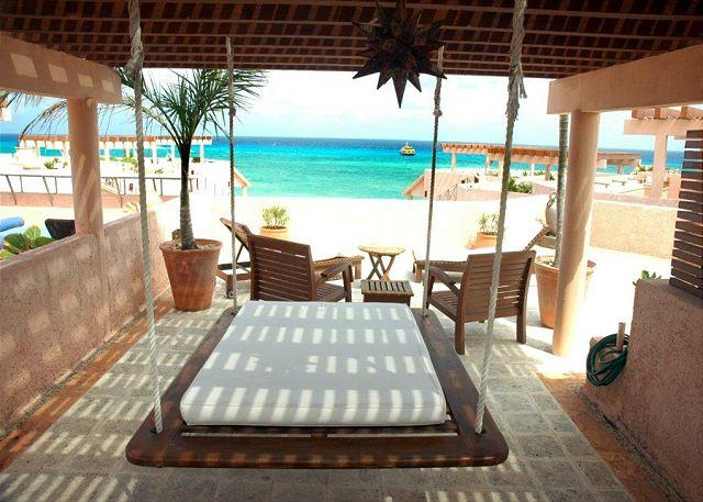 Luna Encantada G3 Rooftop Deck - Oceanfront with pool 2 bedroom penthouse (LEG3) - Playa del Carmen - rentals
