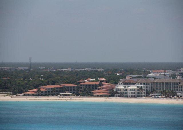 Xaman Ha as seen from the air - Oceanfront with pool 2 bedroom in Xaman Ha (XH7006) - Playa del Carmen - rentals