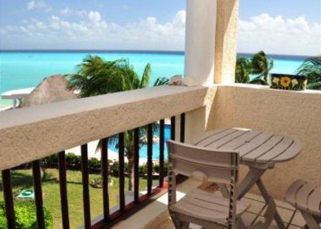 Xaman Ha 7205 terrace - Best rate on 3rd floor! Xaman Ha (XH7205) - Playa del Carmen - rentals