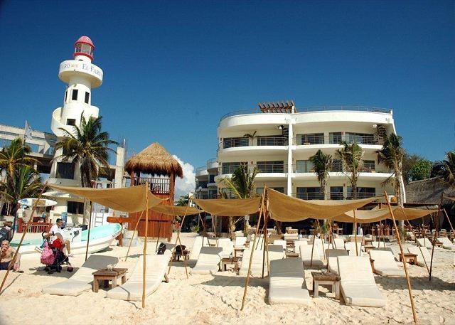 Corto Maltes - Luxurious Beachfront Condo; 2-bdrm, 2-bath (Corto Maltes 202) - Playa del Carmen - rentals
