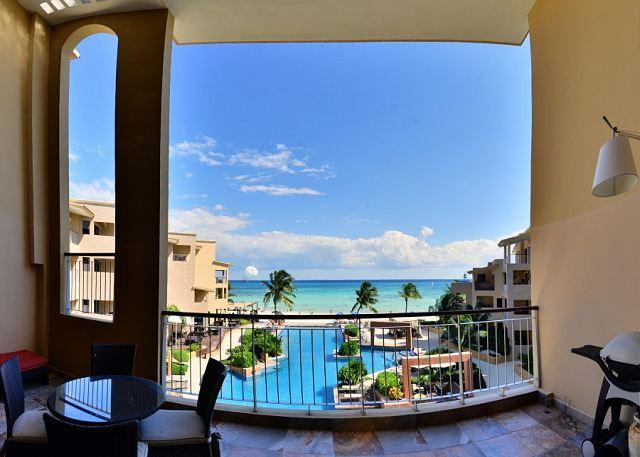El Faro Coral 303 Playa del Carmen Terrace View - Gorgeous Ocean Views! 3 bedroom!  (EFC303) - Playa del Carmen - rentals