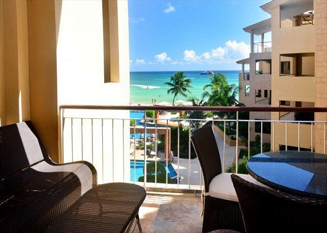 El Faro Coral 301 Balcony - Caribbean Views!!! 2 Bedroom El Faro Condo (EFC301) - Playa del Carmen - rentals