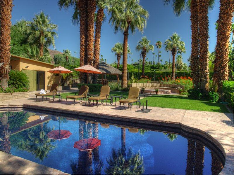 Old Las Palmas Estate with Private Pool, Tennis Courts and Located in a Gated Community - Image 1 - Palm Springs - rentals