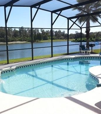 LAKE BERKLEY-(943LB) - 7BR 4.5BA Villa, 2 Master Suites, Private Pool on Lake - Image 1 - Kissimmee - rentals