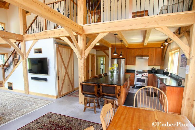 Beautiful Home - 3 Br 2 Ba, Mtn Views of Sugarbush - Image 1 - Warren - rentals