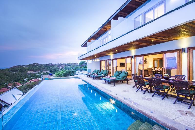 Baan Talay Sai  - Panoramic sea, sun sise and sunset view luxury  villa just 100m from sandy Beach - Baan Talay Sai - Supreme Sea View Villa ChoengMon - Plai Laem - rentals