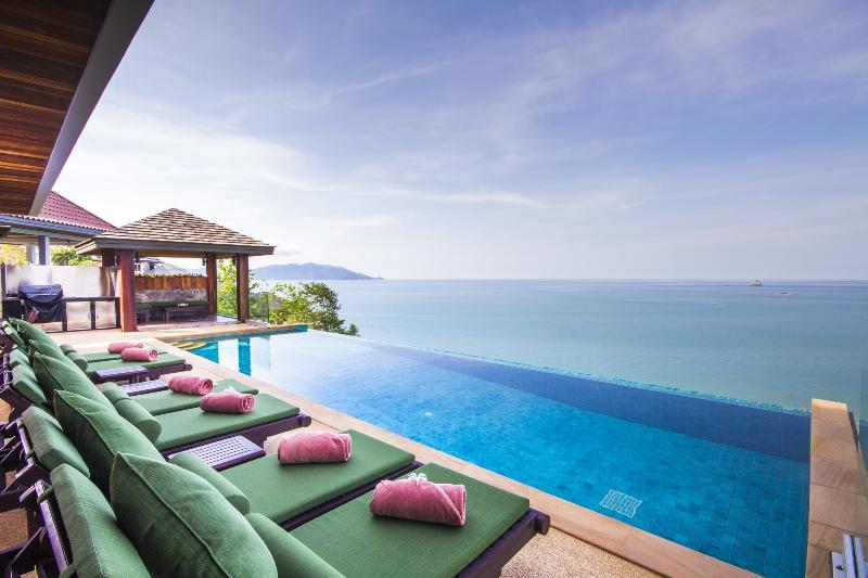 Baan Talay Sai - Supreme Sea View Villa ChoengMon - Image 1 - Plai Laem - rentals