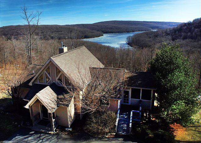 Back Exterior - Amazing mountain home with spectacular lake views! - McHenry - rentals