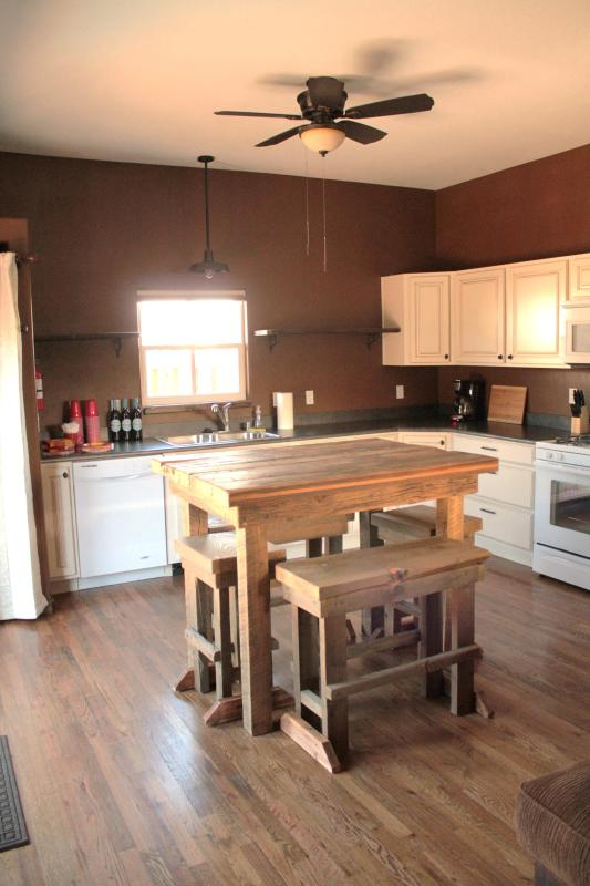 Kitchen - Devore House ~ Unit 1 in Oldtown Historic Downtown - Pagosa Springs - rentals