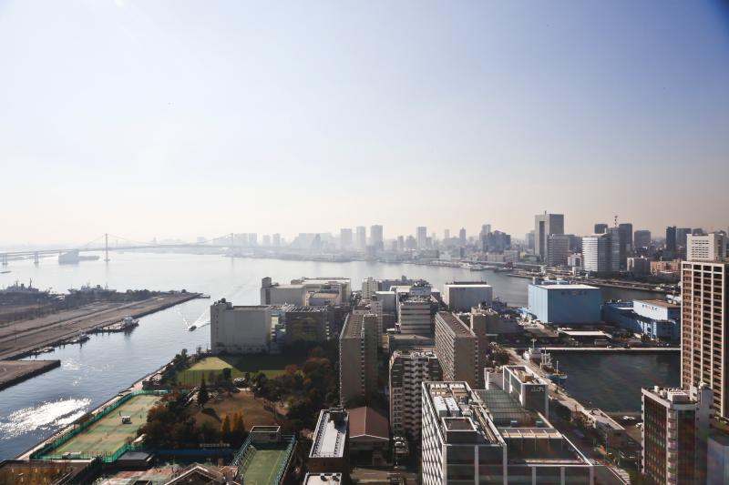 Beautiful view of Tokyo Bay, Rainbow Bridge and Odaiba - Tokyo Bay, Raibow Bridge,Odaiba and Ginza2 - Chuo - rentals
