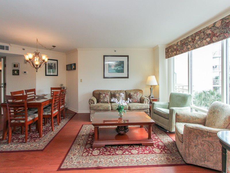 Living Room at 2215 Villamare - 2215 Villamare - Palmetto Dunes - rentals