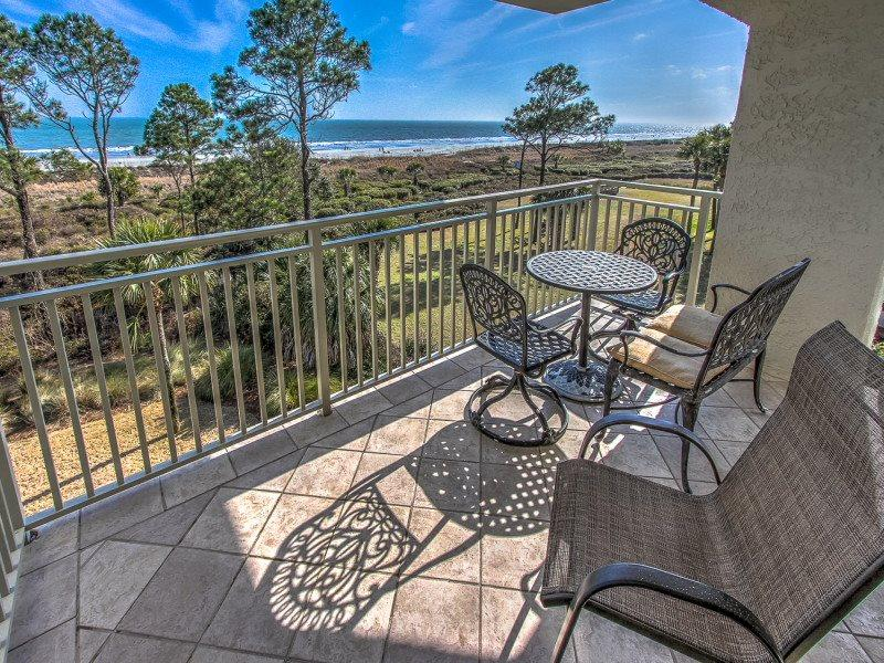 View from 407 Shorewood on Forest Beach - 407 Shorewood - Hilton Head - rentals