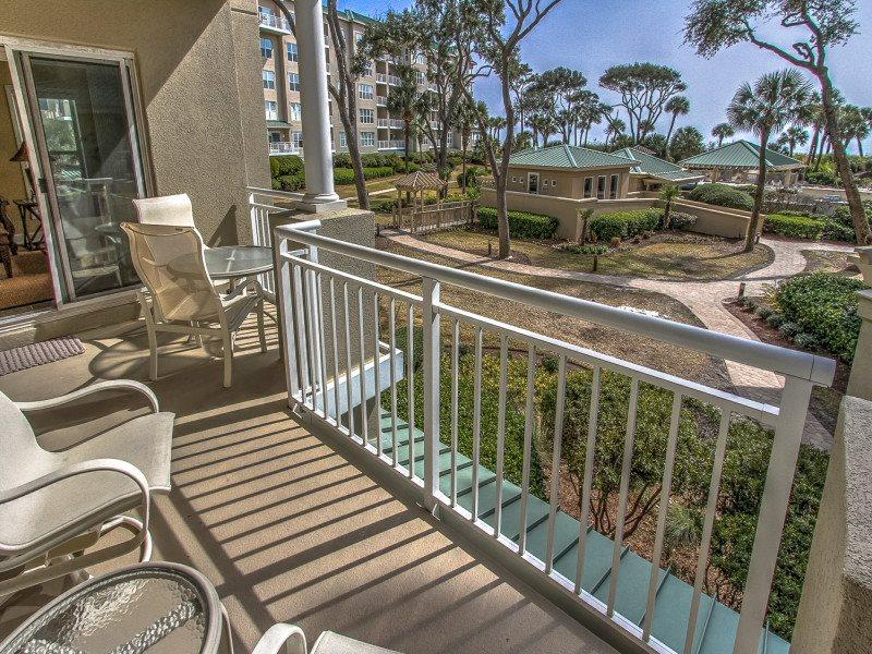 View from 6101 Hampton Place in Palmetto Dunes - 6101 Hampton Place - Palmetto Dunes - rentals