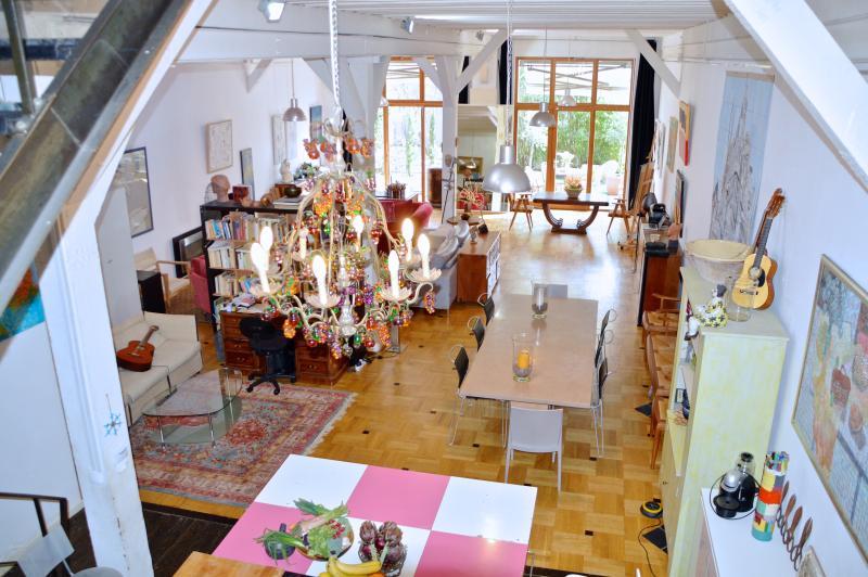 Spectacular living space, loft. - HugeLoft w Garden,Parking, sleeps 6-12, 3 bed 3ba - Paris - rentals