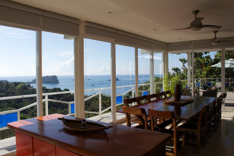 Stunning Villa, Ocean Views, Private Pool, Monkey Visitors Daily - Image 1 - Quepos - rentals