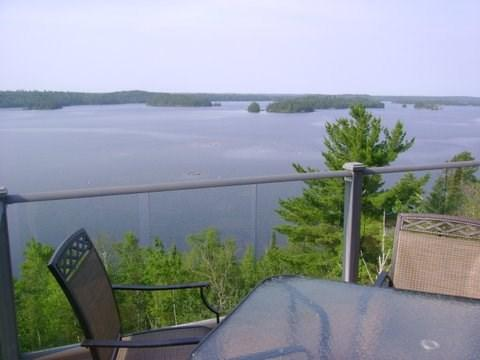 Unparalleled view from deck - Castle Rock: Modern Burntside Lakehome with Amazing View - Ely - rentals
