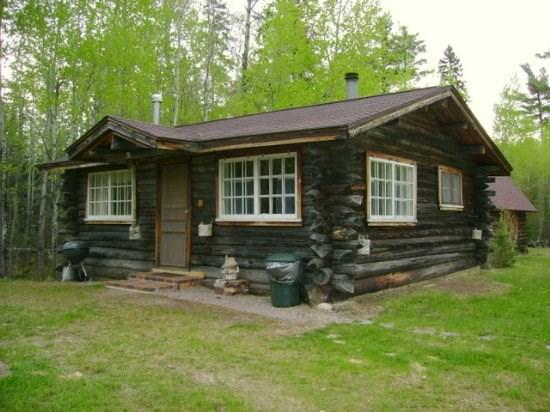 Exterior - Heritage Haus: Charming One Room Log Cabin on White Iron Lake - Ely - rentals