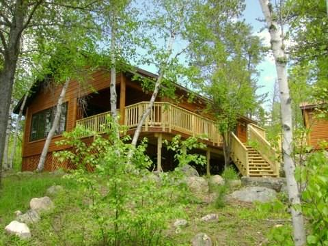 Exterior of Serenity  - Serenity: Beautiful Island Getaway Cabin on Bear Island Lake - Ely - rentals