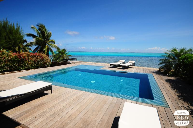 Infinity Pool on the lagon of Moorea - Villa N°10 by ENJOY VILLAS - Maharepa - rentals