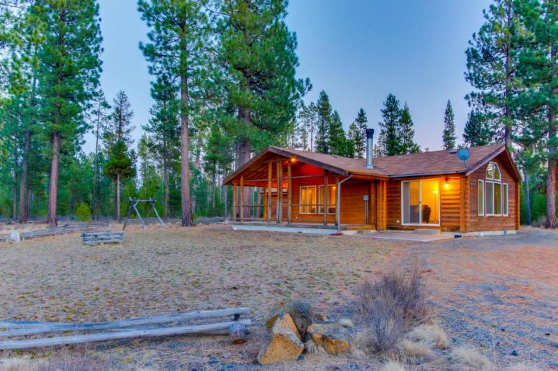 Gorgeous, secluded cabin on 40 acres w/ river access - dogs OK! - Image 1 - Sunriver - rentals