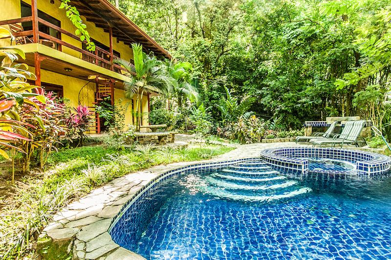 private pool & bbq area  - Mediterranean style 3BR Villa Toucan w/ pool - Manuel Antonio National Park - rentals