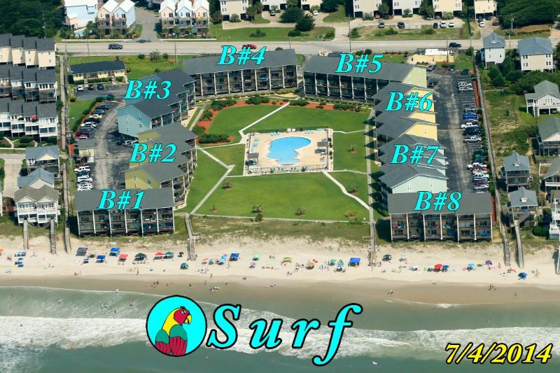 Surf Condo taken 7/4/14 - Surf Condo 436 Oceanview! | Community Pool, Internet - Surf City - rentals