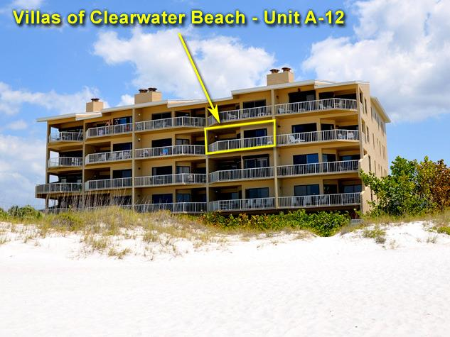 Villas of Clearwater Beach at 15 Glendale street, Clearwater Beach, FL 33767 - Villas of Clearwater | Beachfront 2 bed 2 bath - Clearwater - rentals