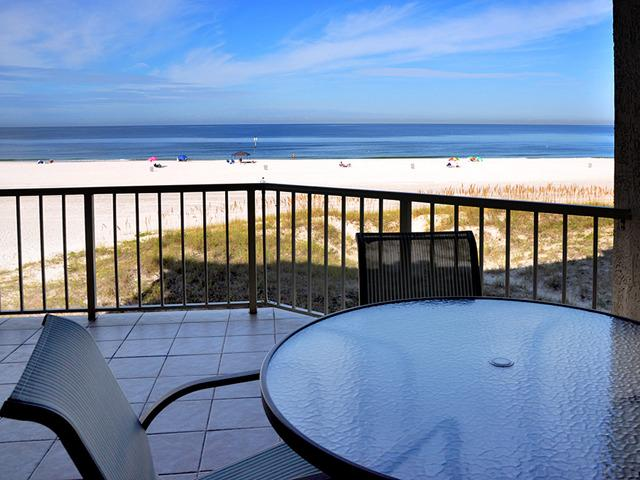 Expansive beach views from the beachfront balcony - Villas of Clearwater Beach 7A | June 13-20 open - Clearwater - rentals
