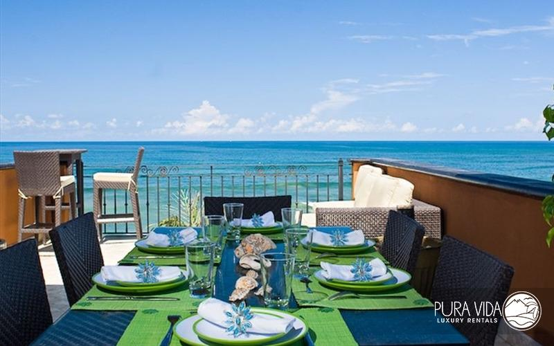 Sunset Deck - Spectacular Ocean Front Penthouse in Langosta - Tamarindo - rentals