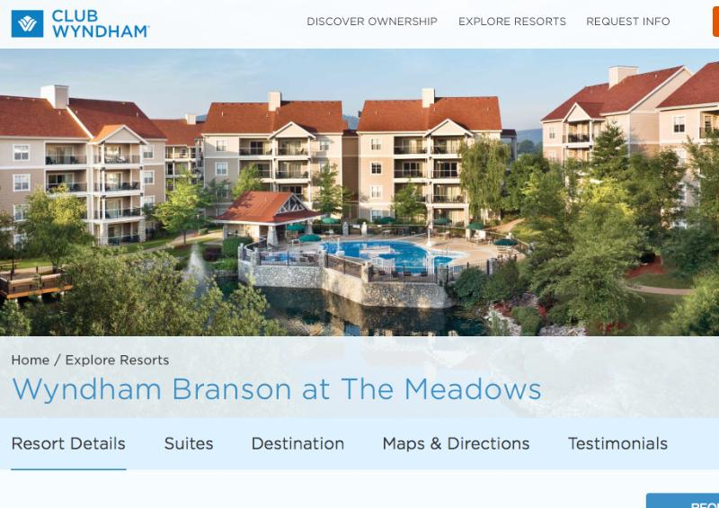 Affordable Luxury - Wyndham's Branson the Meadows - Image 1 - Branson - rentals