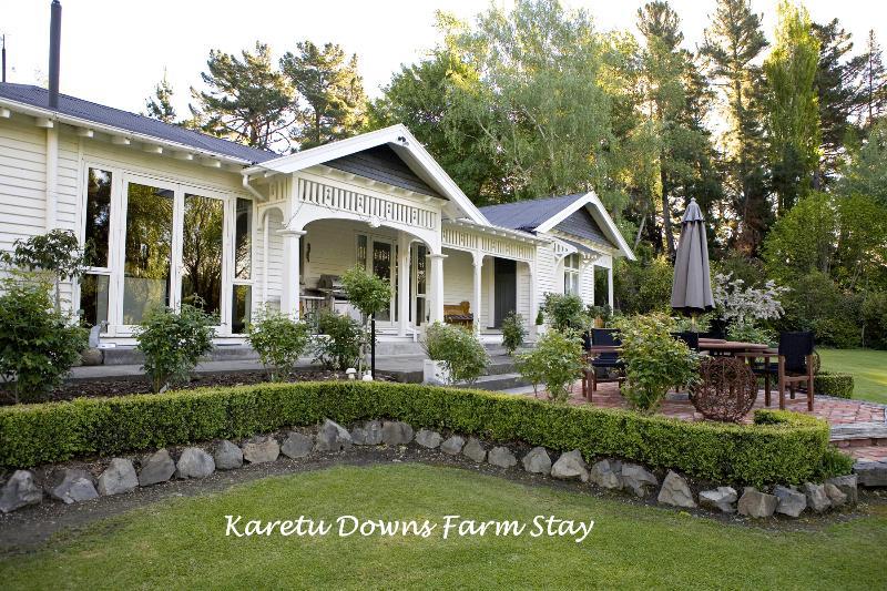 "Karetu Downs Homestead B&B - Farmstay ""Karetu Downs"" Stunning Waipara Gorge - Hawarden - rentals"