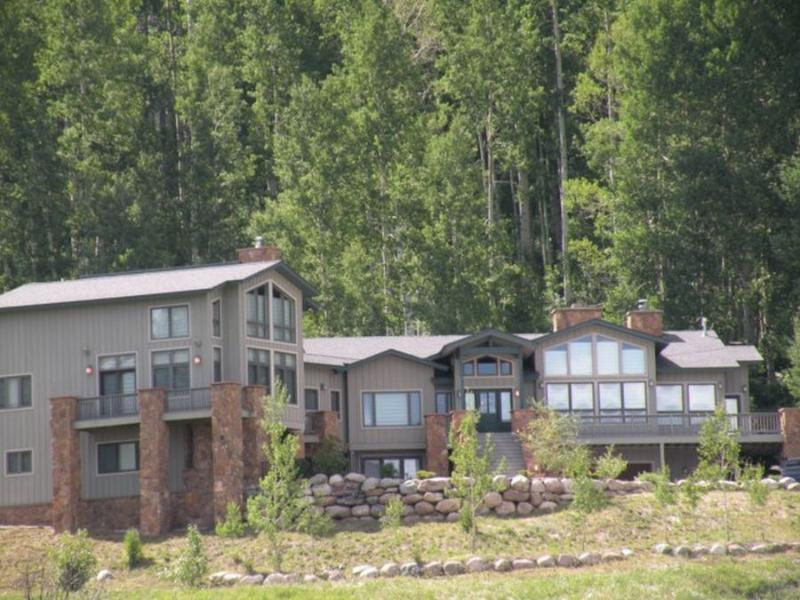 Cliff House-outside view - The Cliff House - Durango - rentals