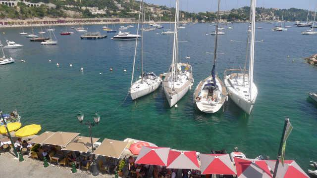 View on the bay from the living room - ON VILLEFRANCHE BAY - AP3040 - Villefranche-sur-Mer - rentals