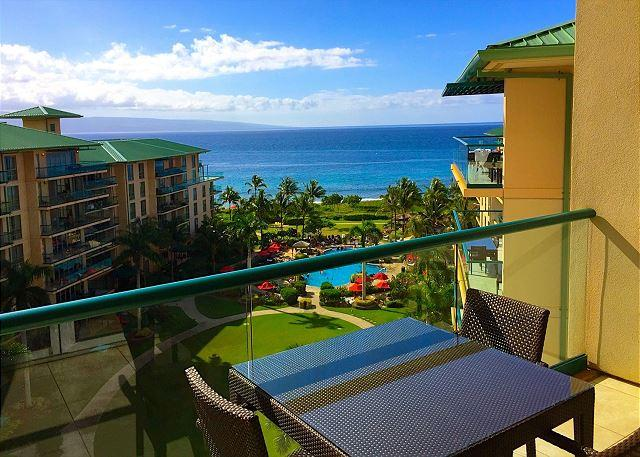 Fantastic ocean view from your private lanai - Hawaii Life Presents The Reserve Collection of Hokulani Full OceanView Studio - Lahaina - rentals