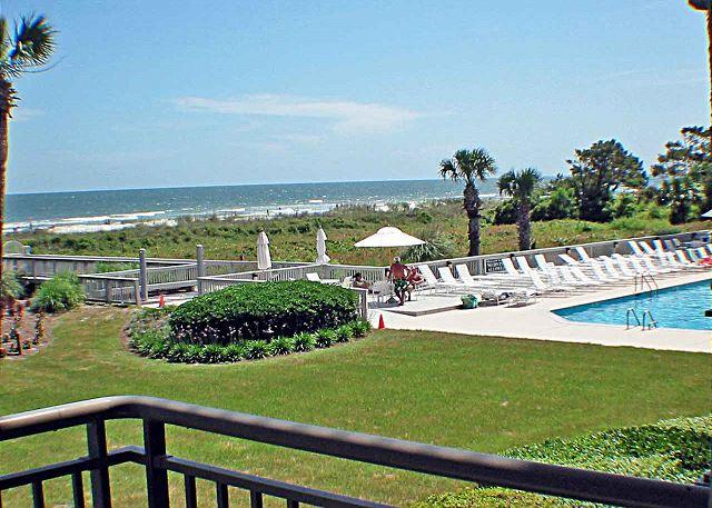 Ocean One 203 - Oceanfront 2nd Floor Condo - Image 1 - Hilton Head - rentals