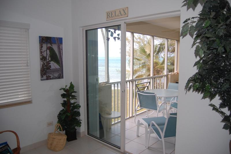 View from living room to beach - Retreat Rum Point #32 - Grand Cayman - rentals