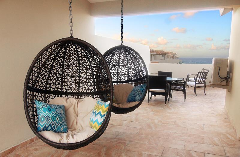 Private Terrace - #1 Penthouse Studio at Jobos Beach Isabela PR - Isabela - rentals