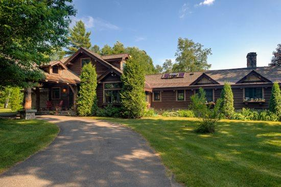 Spacious Lake Placid Adirondack Camp offering privacy and spectacular views of the Adirondack Mountains. - Image 1 - Lake Placid - rentals