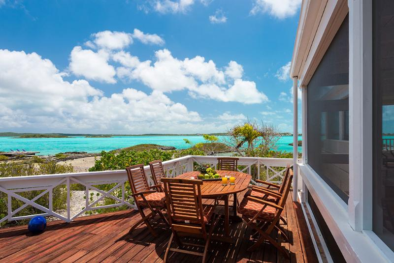 "Dinner ""Under the Stars Deck"" with stunning water views - Private Villa with Private Beach, WhipSpray - Providenciales - rentals"