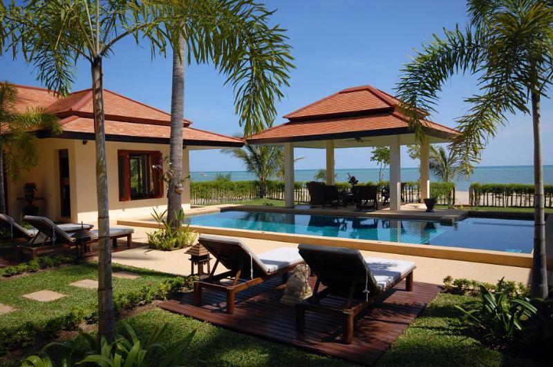 Samui Island Villas - Villa 112 Quiet Sandy Beach - Image 1 - Laem Set - rentals