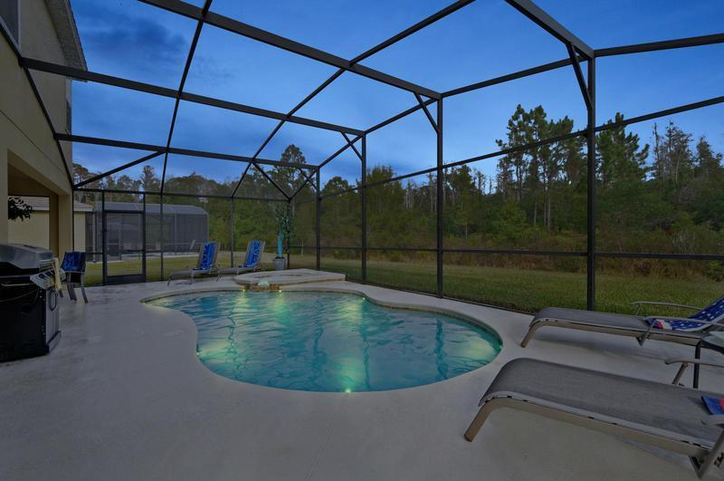 Ultra Luxury 6/5 pool home by Disney sleeps 12 - Image 1 - Kissimmee - rentals